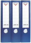 Lever arch files, PVC COATED A4/FC LEVER ARCH FILE - 75 mm - blue