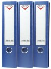 Lever arch files, PVC A4/FC LEVER ARCH FILE - 75 mm - blue
