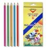 Mechanical pencils, leads, pencils, sharpeners, COLORED PENCILS - 12pcs./set